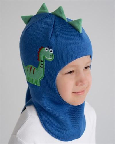 Milli шлем Дракоша, на хлопке (на 4 года) демисезонный - фото 35528