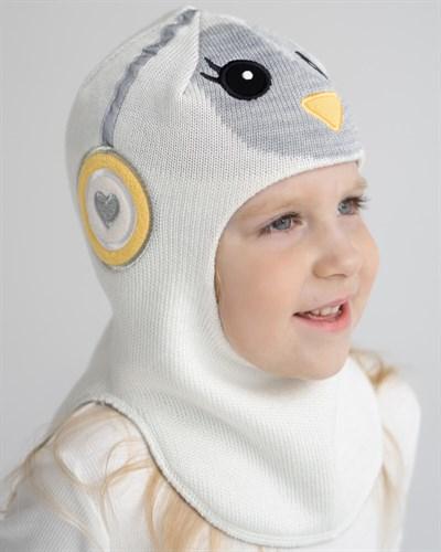 Milli шлем модель Пингвин, на хлопке (на 1 год) демисезонный - фото 35552