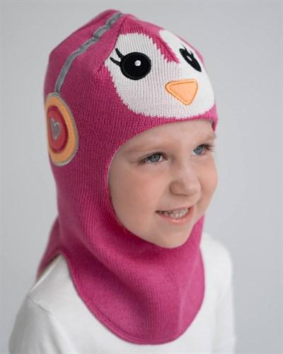 Milli шлем модель Пингвин, на хлопке (на 6 лет) демисезонный - фото 35570