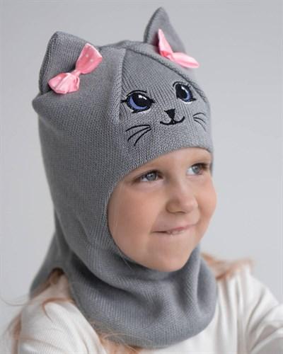 Milli шлем модель Алиса, на хлопке (на 4 года) демисезонный - фото 35596