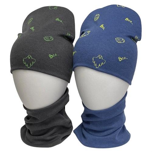 LAMIR комплект Каспер шапка + снуд двойной трикотаж (р.50-52) - фото 36077