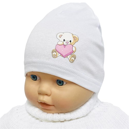 Milli модель мишутка шапка одинарный трикотаж (р.38-40) - фото 36306