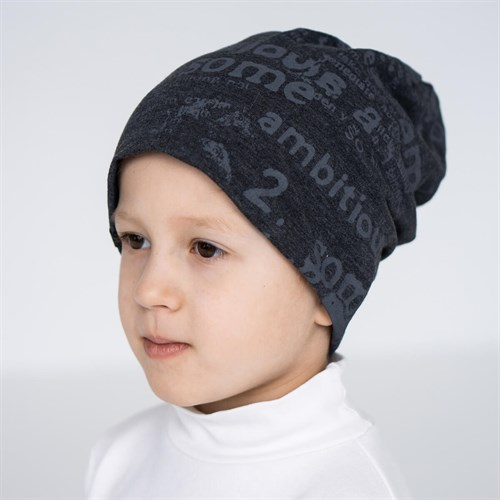 Margot Bis шапка 8871 двойной трикотаж (р.52-54) - фото 36312