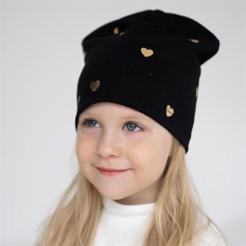 AGBO шапка 3028 Love одинарный трикотаж (р.52-54) - фото 36380