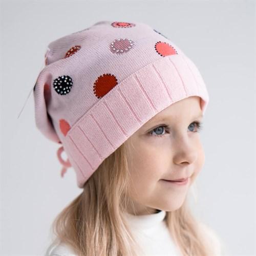 Madlen шапка двойная вязка (р.50-52) - фото 36387