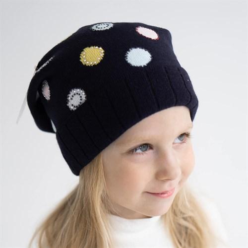 Madlen шапка двойная вязка (р.50-52) - фото 36388