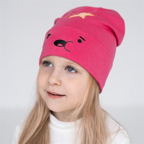ambra шапка одинарный трикотаж (р.50-52) звездочка - фото 36394