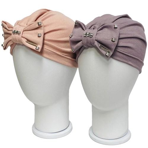 LAMIR шапка Мери чалма двойной  трикотаж  (р.50-52) - фото 36652