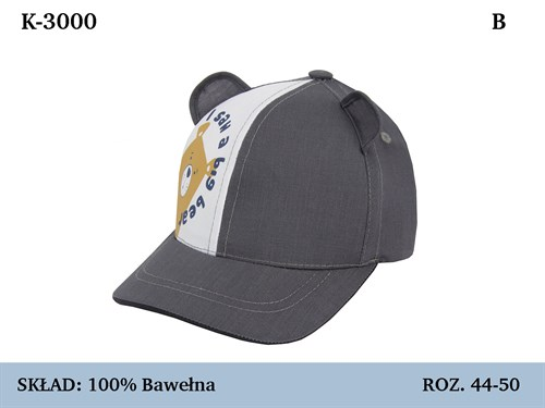 бейсболка Magrof KOD-3000  (р.44-52) - фото 36980