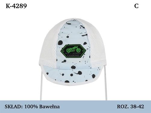 Magrof кепка 4289 с сеточкой, с завязками (р.38-44) - фото 37114
