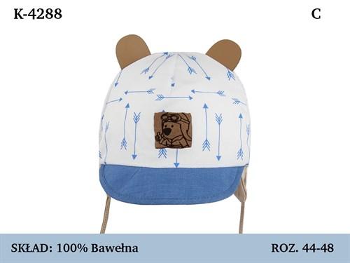 Magrof кепка 4288 с сеточкой, с завязками (р.44-50) - фото 37131