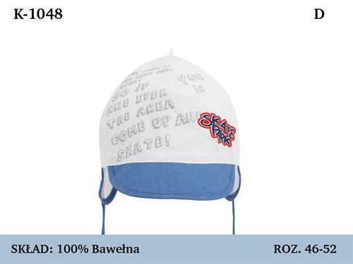 Magrof кепка 1048 с сеточкой, с завязками (р.46-54) - фото 37160