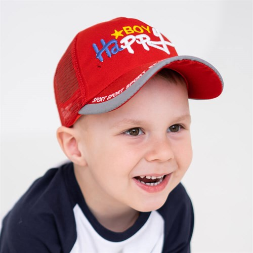 Milli бейсболка детская BoyHappy (р.50-52) с сеткой - фото 37320
