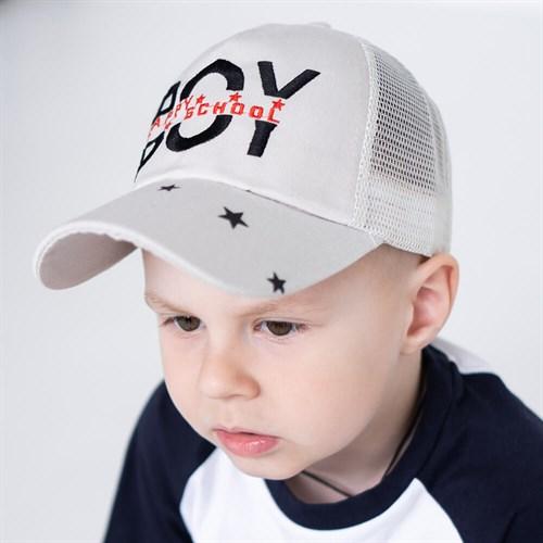 Milli бейсболка детская BOY (р.50-52) с сеткой - фото 37327