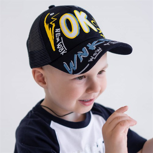 Milli бейсболка детская OK cap (р.50-52) с сеткой - фото 37340