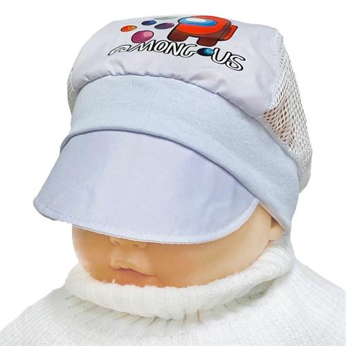 кепка летняя с сеткой (р.46-48) Космонавт - фото 37563