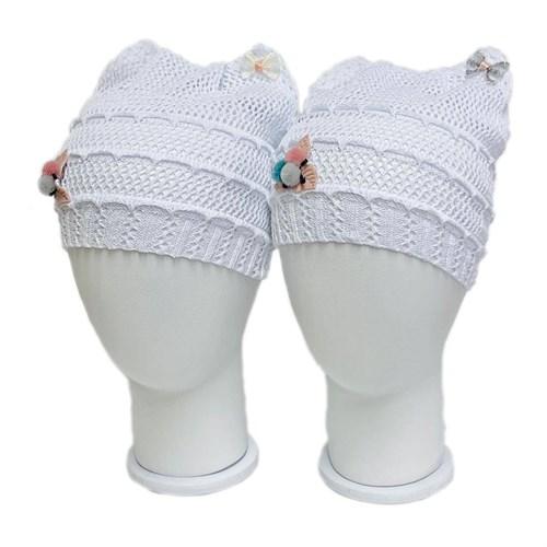 ажурная вязка шапка Кошечка в ассортименте (р.50-54) - фото 37603