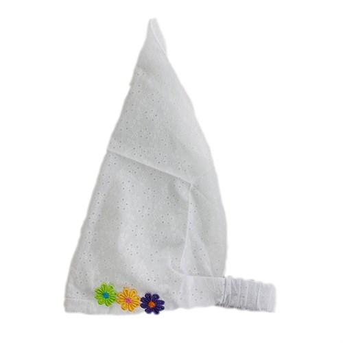 Косынка для девочки шитье (р.50-54) цветы - фото 37694