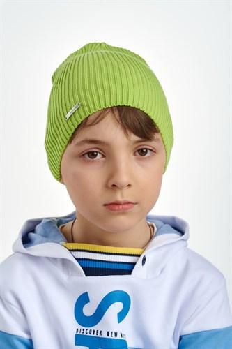 Nikola (Pompona) вязаная шапка 21 V 122 (р.46-50) - фото 38043