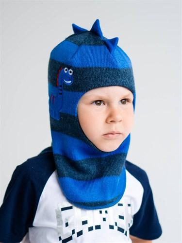 Milli шлем модель Дракоша, на утеплителе  (на 2 года) зима - фото 38123