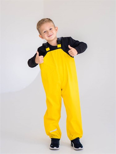 .Milli непромокаемый полукомбинезон Антигрязь, желтый - фото 38372