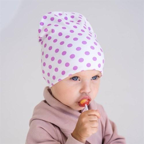 ambra шапка двойной трикотаж (р.48-50) - фото 38394