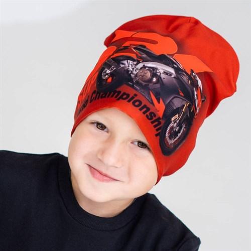 ambra шапка двойной трикотаж мото (р.54-56) - фото 38396