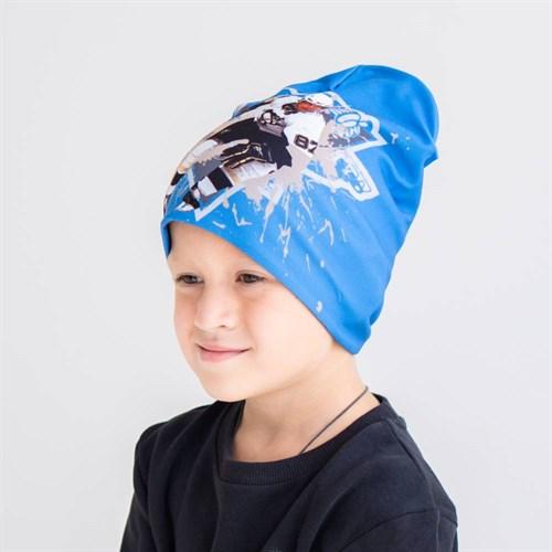 ambra шапка двойной трикотаж хоккей (р.52-54) - фото 38399