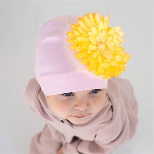 ambra шапка одинарный трикотаж (р.50-54) цветок - фото 38401