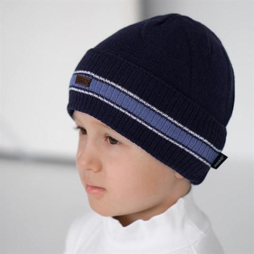 AGBO 2737 JONATAN шапка вязаная, подклад хлопок (р.48-50) - фото 38480