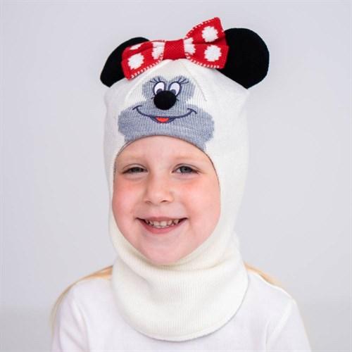 Olimpias шлем модель Минни, на хлопке (на 1 год) демисезонный - фото 38563
