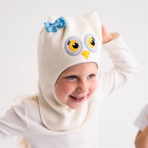 Milli шлем модель Сова, на хлопке (на 6 лет) демисезонный - фото 38629