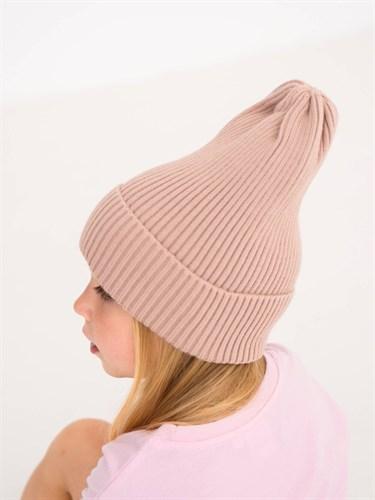Milli вязаная шапка Trufel унисекс одинарная вязка (р.54-56) - фото 39017
