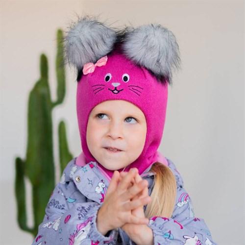 Milli шлем модель Мила, на утеплителе (на 6 лет) зима - фото 39439