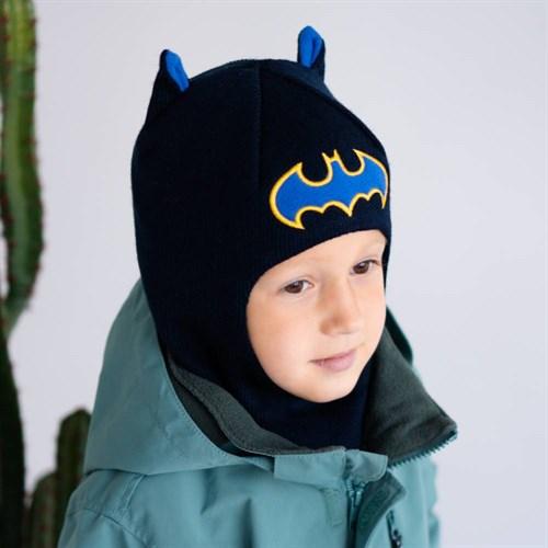 Milli шлем модель Летучая Мышь, на утеплителе (на 4года) зима - фото 39467