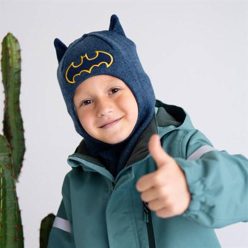 Milli шлем модель Летучая Мышь, на утеплителе (на 6 лет) зима - фото 39476