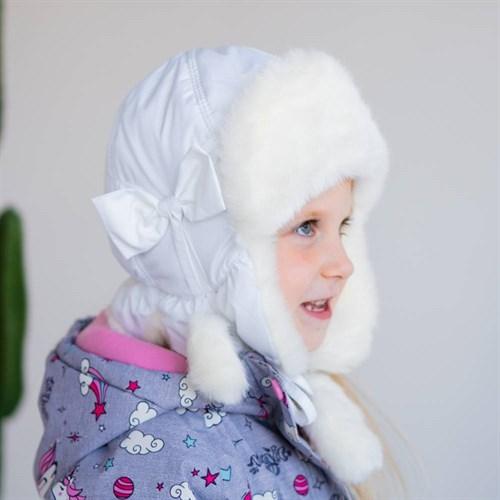 шапка болоневая HASKI модель М174 с утеплителем, подклад хлопок (р.50,52,54,56)  - фото 39505