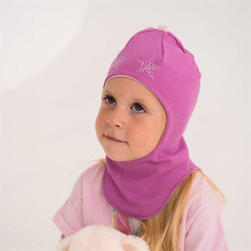 BG шлем для девочки двойной трикотаж (р.44-46) - фото 39536