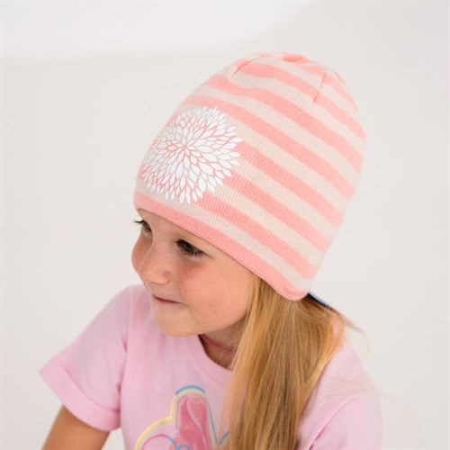 AGBO шапка 3281 Lila вязаная, подклад хлопок (р.48-50) - фото 39541