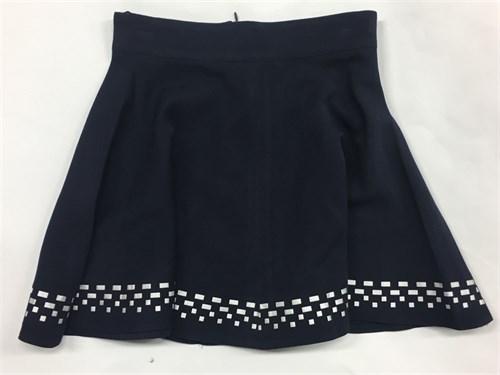 юбка Mikrus черная (р.128-158) - фото 4960