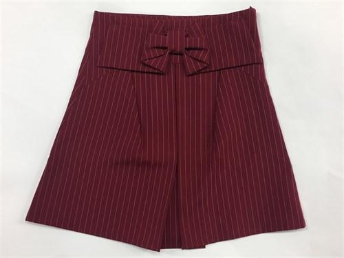 юбка BoysGirls бордо в мелкую полоску (р.128-152) - фото 4962