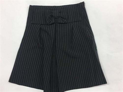 юбка BoysGirls черная в мелкую полоску (р.128-152) - фото 4964