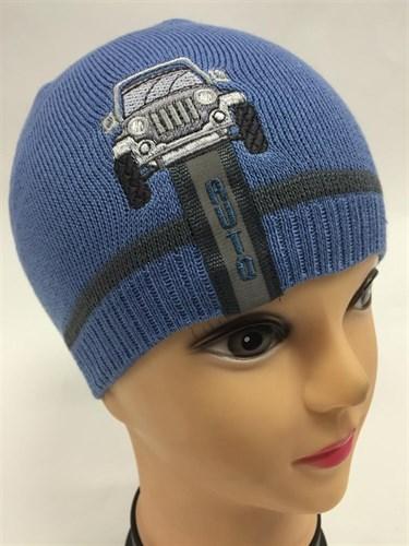 amal модель 006 шапка для мальчика один.вязка (AUTO) - фото 5017
