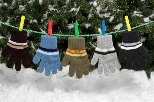 margot перчатки BOY одинарная вязка (размер 14) - фото 5356