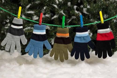 margot перчатки BEN одинарная вязка (размер 15) - фото 5363