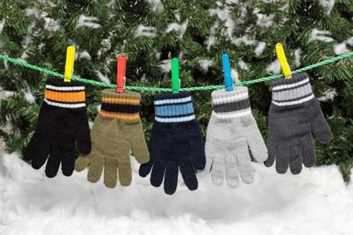 margot перчатки DIEGO одинарная вязка (размер 15) - фото 5364