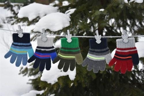 margot перчатки BEL одинарная вязка (размер 11) - фото 5376