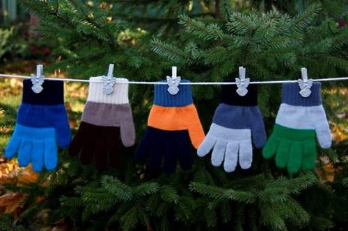 margot перчатки ALFA одинарная вязка (размер 14) - фото 5377