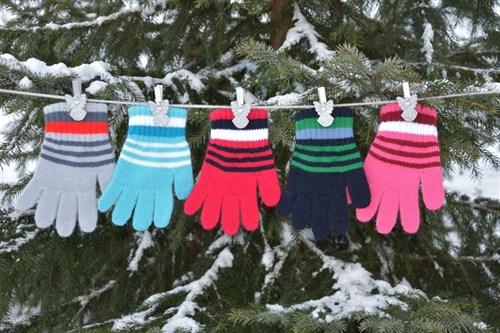 margot перчатки 9003 одинарная вязка (размер 14) - фото 5383