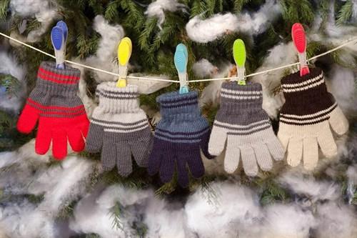 margot перчатки ZIG-ZAG одинарная вязка (размер 80) - фото 5387